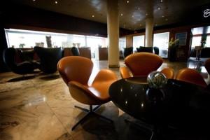 La Swan Chair negli interni del Radisson SAS Royal di Copenhagen.