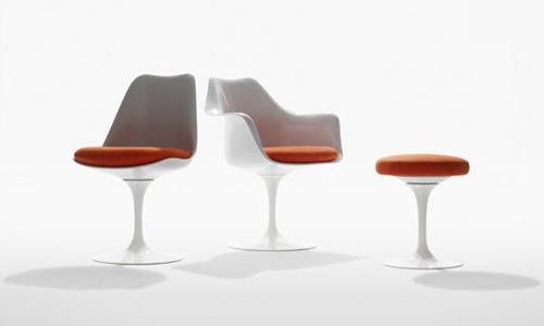 Tulip chair arredativo design magazine for Sedie per tavolo tulip