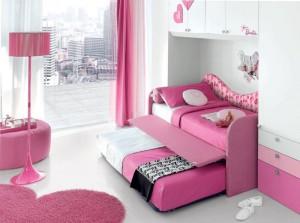 La cameretta di Barbie nellla versione a ponte_ Barby trendy (Cityline)