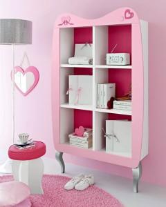 L'armadio uno dei simpatico prodotti della Cameretta firmata Barbie per Cityline.