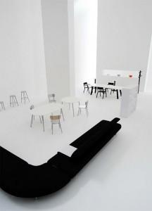 Cloud è un'originale seduta imbottita, perfetta per grandi spazi. (B&B)