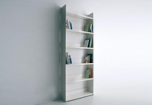 Gran livorno arredativo design magazine for Libreria a muro bianca