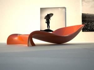 Le sinuose forme di Panton Chaise Lounge