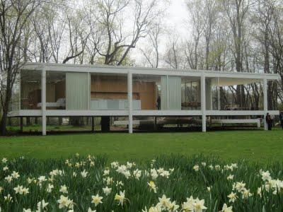 Mies van der rohe 2parte arredativo design magazine - Casa farnsworth ...