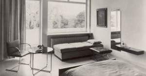 Camera da letto della Signora Grete Tugendhat.