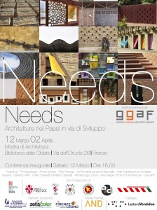 NEEDS. Architetture nei paesi in via di sviluppo