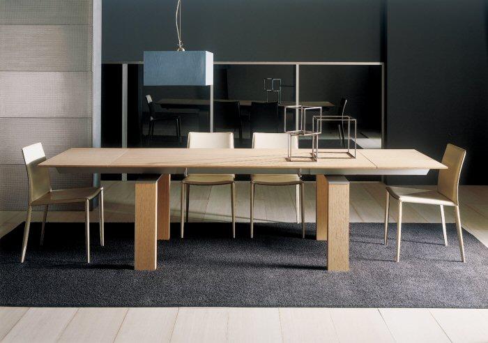 Sala da pranzo il tavolo arredativo design magazine for Tavolo da sala in legno