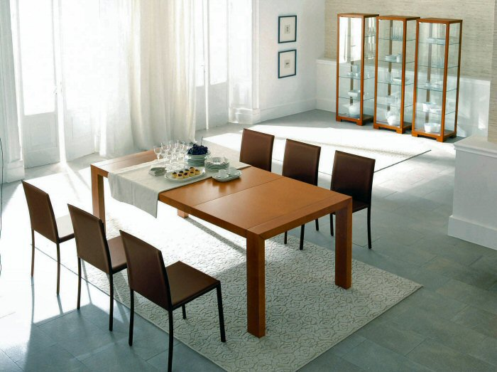 Appunti di feng shui sala da pranzo arredativo design for Sedie moderne sala da pranzo