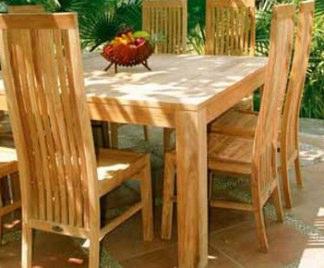 Appunti di feng shui sala da pranzo arredativo design for Tavoli in legno massello rustici