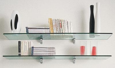 In soggiorno mobili contenitori aperti arredativo design magazine - Mensole in vetro per soggiorno ...
