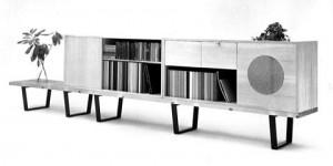 Basic Cabinet Series, prodotta da Herman Miller dal 1946 al1958.