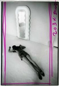 Shooting inside Poltronova, ph. A. Fioravanti- E. Sottsass 1970