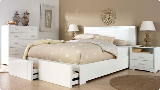 Camera da letto in colori neutri Arredativo Design Magazine