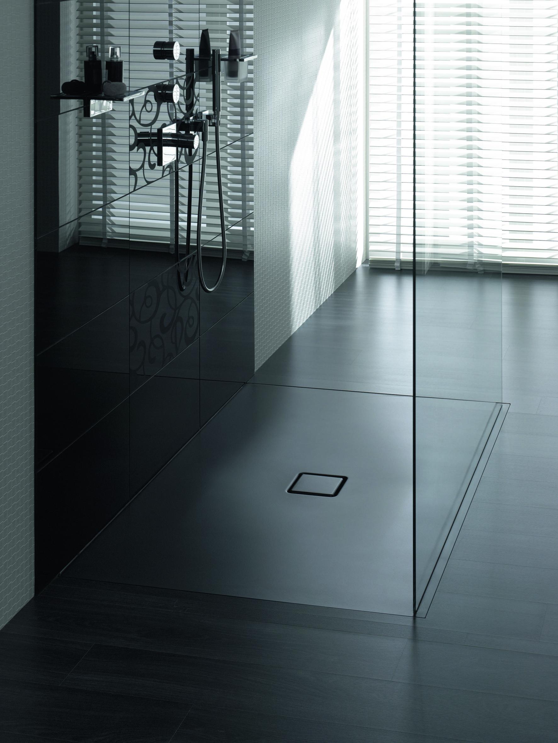 kaldewei piatti doccia a filo pavimento arredativo design magazine. Black Bedroom Furniture Sets. Home Design Ideas
