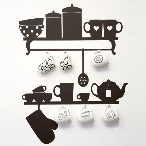 Wall stickers arredare low cost arredativo design magazine - Cucine on line low cost ...