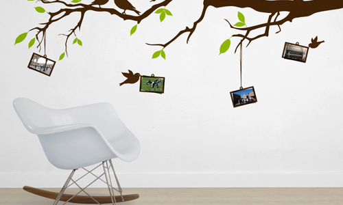 Wall stickers: arredare low cost