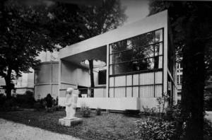 Padiglione dell'Esprit Nouveau per l'Esposizione delle Arti decorative ed Industriali Moderne a Parigi, Francia