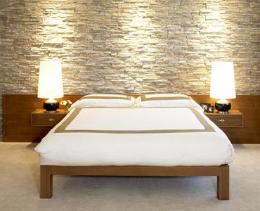 Pietra ricostruita in camera da letto... - Arredativo Design Magazine
