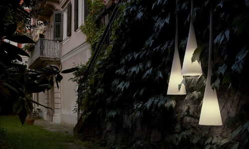 Foscarini per l'outdoor