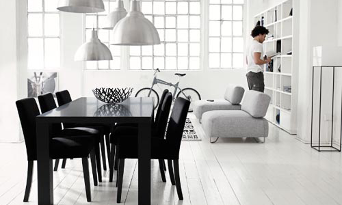 black-and-white-dining-room-design