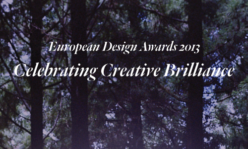 European Design Awards 2013