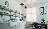 shabby-chic-kitchen-grey