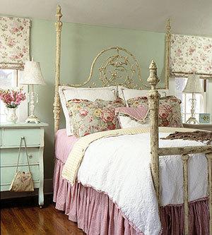 Vintage Shabby Chic Bedroom Decor