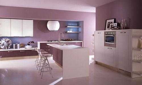 Salotto rosa antico idee per il design della casa - Colori per pareti cucine moderne ...