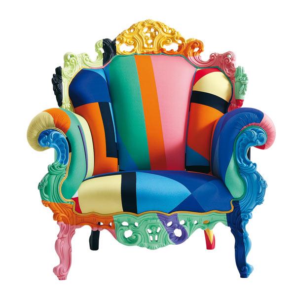 Sedute d 39 arte quando le sedie diventano icone for Poltrona proust