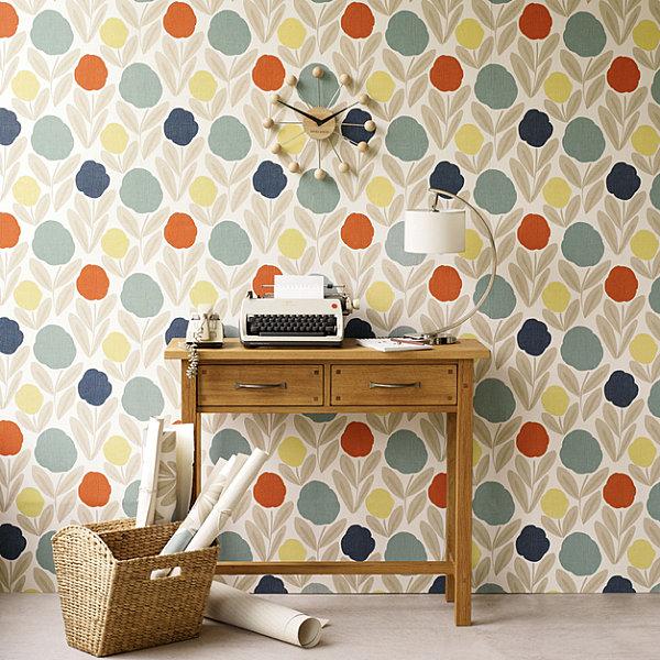 Laura Ashley Kitchen Wallpaper: Arredativo Design Magazine