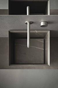 Arredo bagno saper scegliere il lavabo arredativo design magazine - Bagno in cemento resinato ...