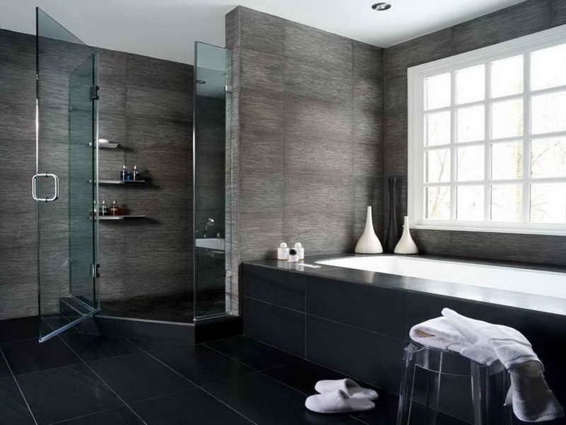Bagno Moderno Bianco E Nero.Bagni Neri Perfect Il Bagno Bagno In Stile In Stile Moderno Di