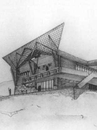 Progetti di Chalet di Carlo Mollino (fonte: dzinestore.com )