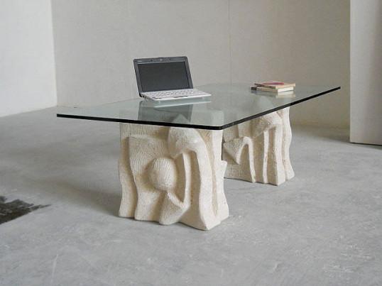 Stile classico in soggiorno arredativo design magazine - Base per tavolo cristallo ...