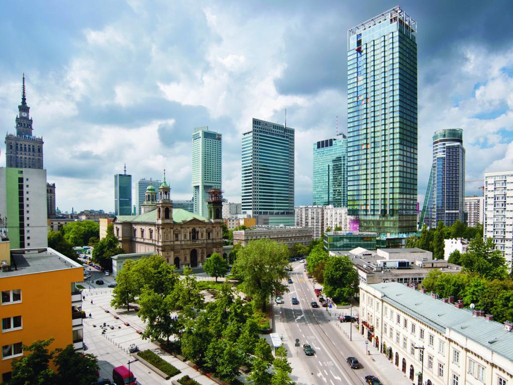Varsavia cosmopolitan tower le vasche da bagno e i for Piani di costruzione di appartamenti