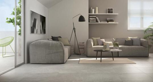 Finiture d 39 interni la piastrella effetto pietra arredativo design magazine - La casa della piastrella ...