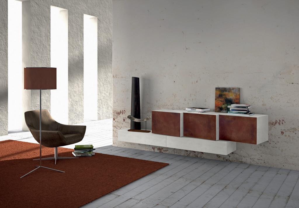 spazio a nuove forme e volumi con presotto italia