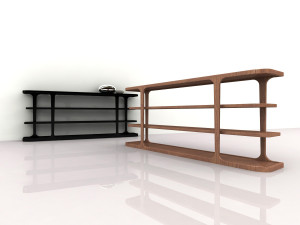 PATINA _ by Codital - LE CADRE BOOKCASE