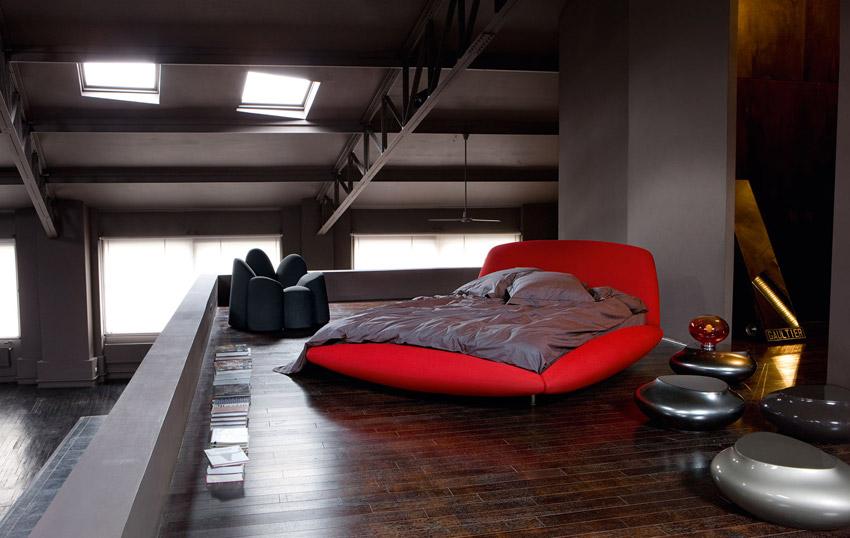 La casa per due la camera da letto arredativo design - Divano roche bobois usato ...