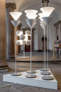 Oluce_RELOADED_Installation by M.Berghinz_Fuorisalone 2014_Università Statale_Milano_3