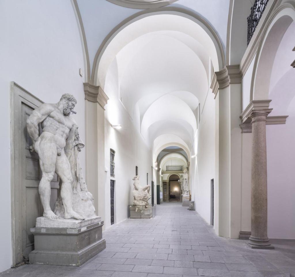 Corridoio gessi Accademia- photo Credit Cosmo Laera