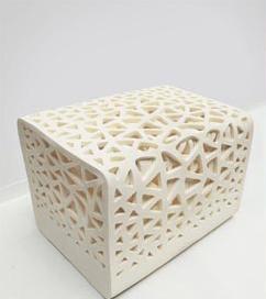 Prototipo di Breathing chair la seduta della designer Wu Yu Ying.