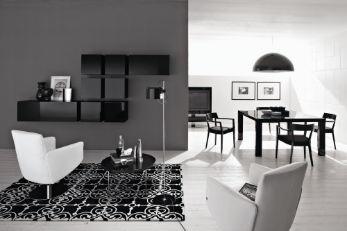I colori neutri negli interni arredativo design magazine for Calligaris mobili soggiorno