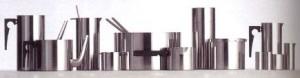 La Serie Cylinda Line in acciaio inossidabile disegnata per Stelton (1967)