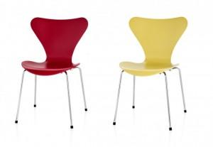 Serie 7 è prodotto in vari colori e finiture. In Italia è distribuita da MC SELVINI