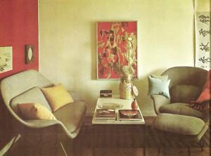La Womb Chair di Eero Saarinen, uno dei suoi più affascinanti prodotti di industrial design
