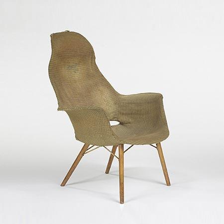 Organic Chair progetto vincitore del concorso del MoMA.