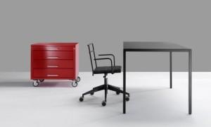 Quadrotta per l'ufficio in Versione Task Chair (Emme Italia)