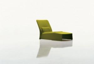 La Chaise longue Glove di Patricia Uquiola. (Molteni & C)