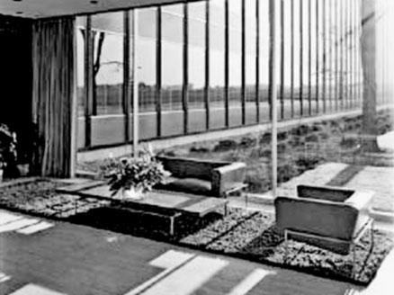 Interni del General Motors Technical Centre, Warren, Michigan, 1947/1956.
